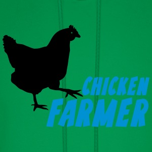 chicken Farmer Farming Agriculture T-Shirts - Men's Hoodie