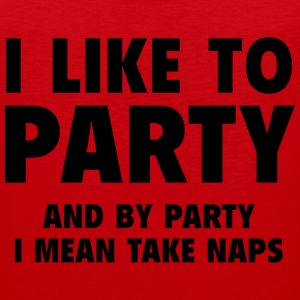 I Like To Party - Men's Premium Tank