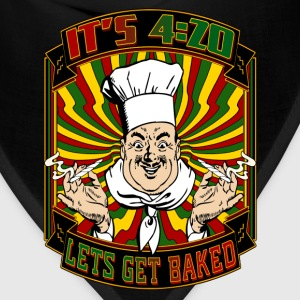It's 420 - Let's Get Baked! - Bandana