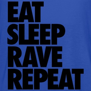 Eat Sleep Rave Repeat T-Shirts - Women's Flowy Tank Top by Bella