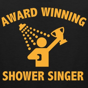 Award Winning Shower Singer - Men's Premium Tank