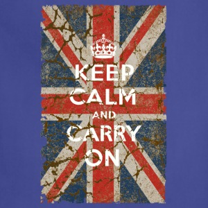 UK Flag and Keep Calm, Hybrid - Adjustable Apron
