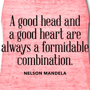 Good Head Good Heart - Women's Flowy Tank Top by Bella