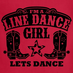 I'M A LINE DANCE GIRL Women's T-Shirts - Adjustable Apron