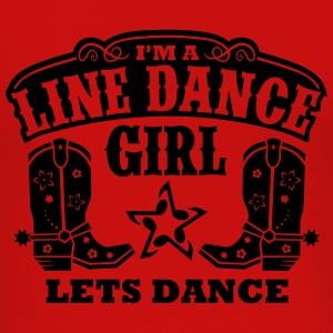 I'M A LINE DANCE GIRL Women's T-Shirts - Women's Premium Long Sleeve T-Shirt