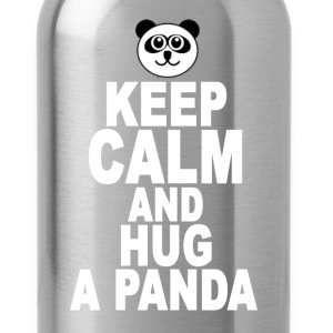keep_calm_and_hug_a_panda - Water Bottle