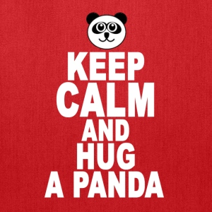keep_calm_and_hug_a_panda - Tote Bag