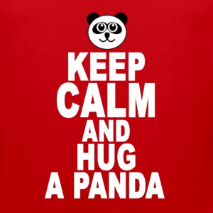 keep_calm_and_hug_a_panda - Men's Premium Tank