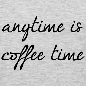 Anytime Is Coffee Time - Men's Premium Long Sleeve T-Shirt