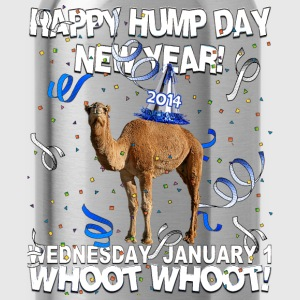 Happy Hump Day New Year 2014 Party Camel T-shirt - Water Bottle