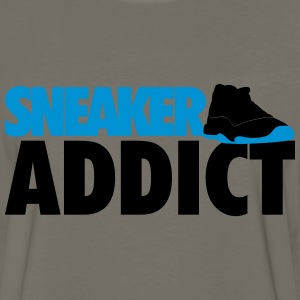 sneaker addict j11 gamma blue T-Shirts - Men's Premium Long Sleeve T-Shirt