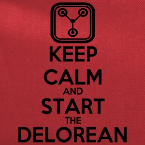 Keep Calm and start the Delorean T-Shirts - Computer Backpack