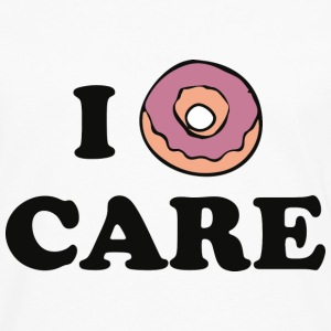 I Donut Care - Men's Premium Long Sleeve T-Shirt