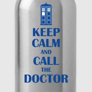 Keep Calm And Call The Doctor T-Shirts - Water Bottle