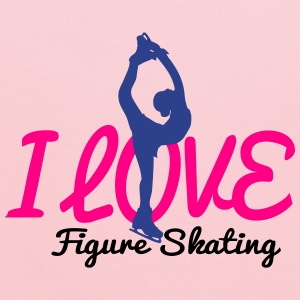 I love figure skating KidsT-shirt - Kids' Hoodie
