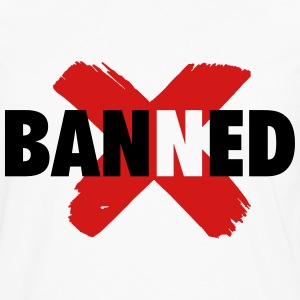banned jordan 1 T-Shirts - Men's Premium Long Sleeve T-Shirt