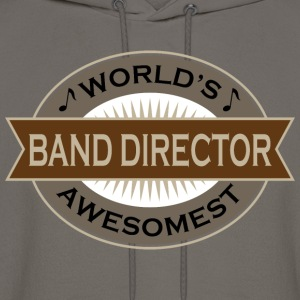 World's Awesomest Band Director T-Shirts - Men's Hoodie
