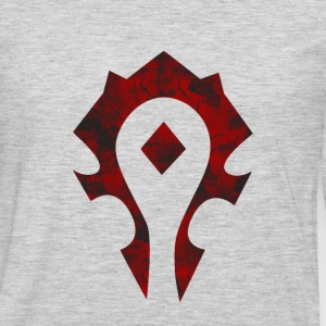 Horde  - Men's Premium Long Sleeve T-Shirt