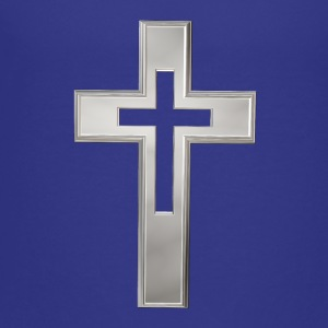Silver Christian cross Kids' Shirts - Toddler Premium T-Shirt