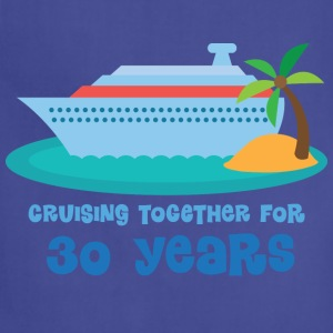 30th Anniversary Gift (Cruise) T-Shirts - Adjustable Apron