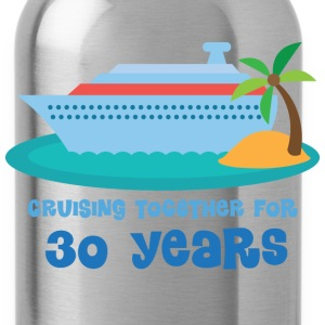 30th Anniversary Gift (Cruise) T-Shirts - Water Bottle