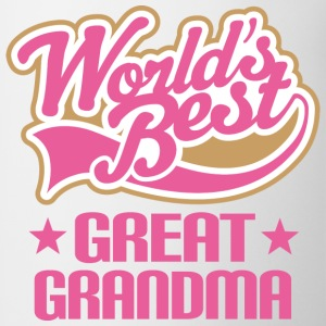Great Grandma (Worlds Best) Women's T-Shirts - Coffee/Tea Mug