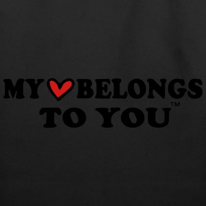 MY HEART BELONGS TO YOU T-Shirts - Eco-Friendly Cotton Tote