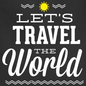 Let's Travel The World - Adjustable Apron