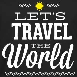 Let's Travel The World - Men's Premium Long Sleeve T-Shirt