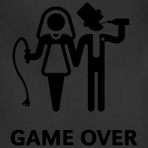 Game Over (Whip and Beer) T-Shirt - Adjustable Apron