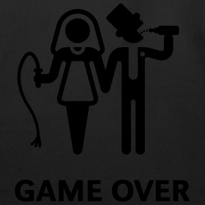 Game Over (Whip and Beer) T-Shirt - Eco-Friendly Cotton Tote