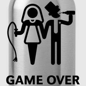 Game Over (Whip and Beer) T-Shirt - Water Bottle