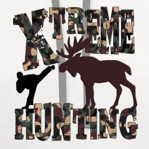 Xtreme Hunting T-Shirts - Contrast Hoodie