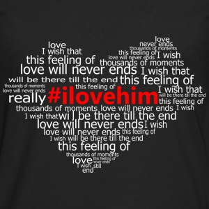 #ilovehim Women's T-Shirts - Men's Premium Long Sleeve T-Shirt