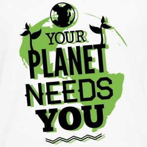 Your Planet Needs You - Men's Premium Long Sleeve T-Shirt