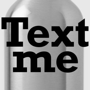 Text me (Brown) - Water Bottle