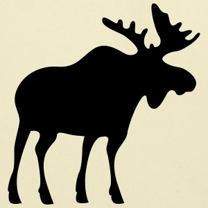 moose T-Shirts - Eco-Friendly Cotton Tote