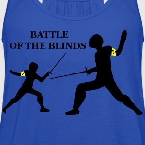 Battle of the blinds T-Shirts - Women's Flowy Tank Top by Bella