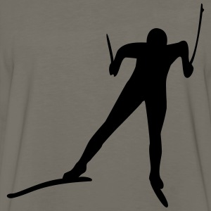 cross-country ski T-Shirts - Men's Premium Long Sleeve T-Shirt