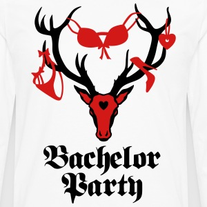 Groom Wedding Stag night bachelor Party T-Shirt - Men's Premium Long Sleeve T-Shirt