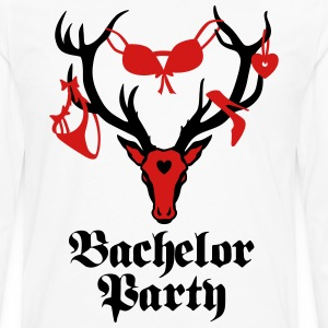 Groom Wedding Marriage Stag night bachelor T-Shirt - Men's Premium Long Sleeve T-Shirt
