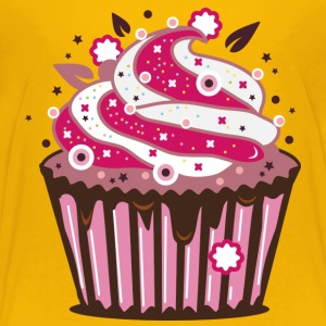 A cupcake with frosting Kids' Shirts - Toddler Premium T-Shirt