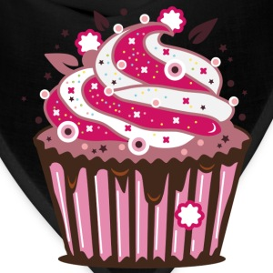 A cupcake with frosting Women's T-Shirts - Bandana