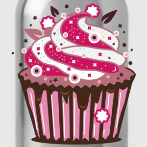 A cupcake with frosting Women's T-Shirts - Water Bottle