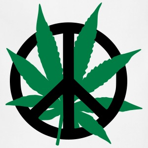 Cannabis Peace T-Shirts - Adjustable Apron