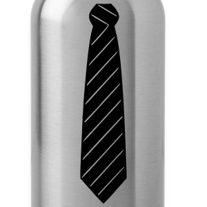 Necktie T-Shirts - Water Bottle