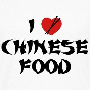 I Love Chinese Food - Men's Premium Long Sleeve T-Shirt