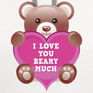 I Love You Beary Much - Contrast Hoodie