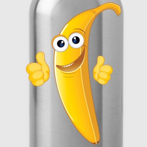 banana funny - Water Bottle