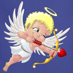 cupid with a halo - Adjustable Apron